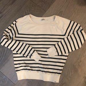 Tna striped sweatshirt